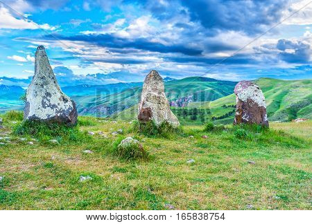 The Old Stones In Highlands