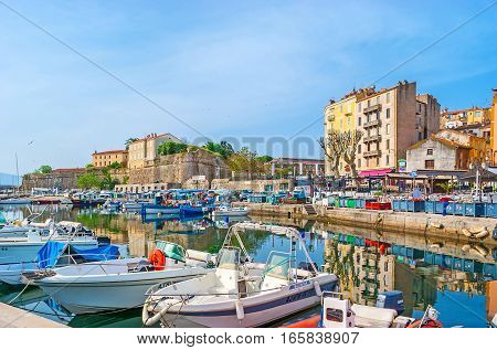 The Ports Of Ajaccio