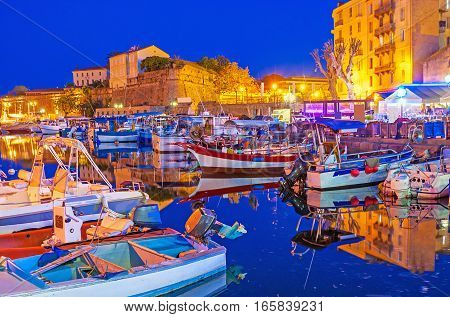 The Old Port In The Evening