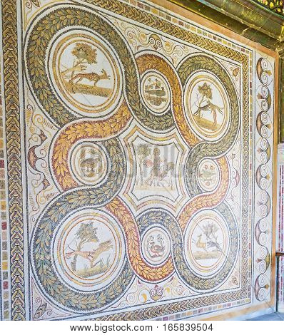 The Rug Of Stone Mosaic