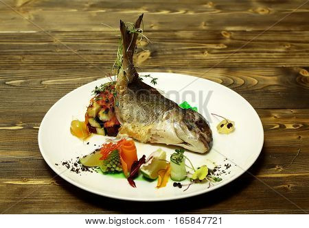 Roasted White Fish