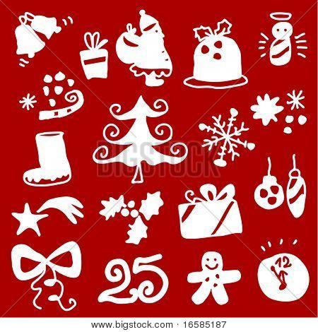 Christmas silhouettes 1