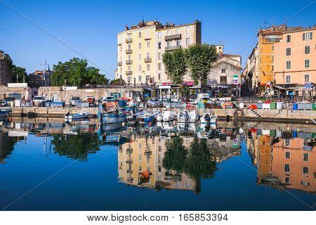 Old Port Of Ajaccio, Corsica Island, France