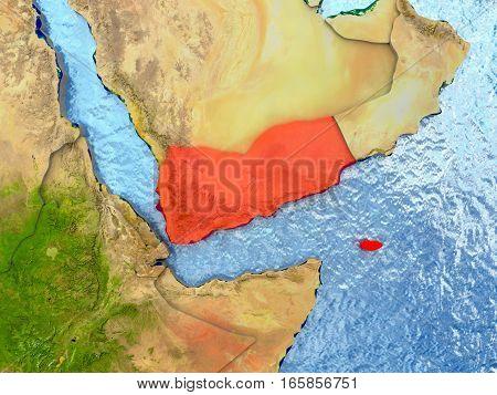 Yemen In Red