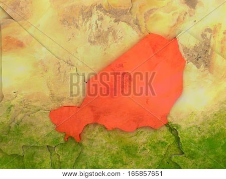 Niger In Red