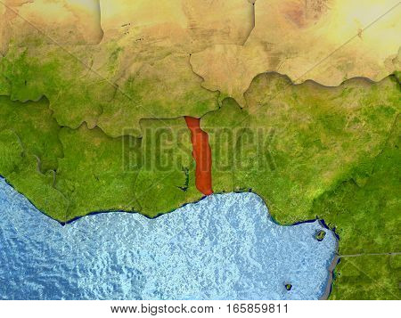 Togo In Red