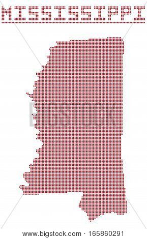 Mississippi Dot Map