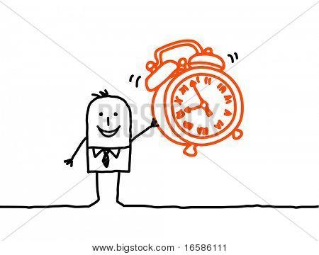 clock alarm poster