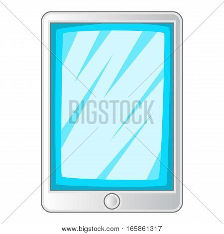 Screen protecting film for tablet icon. Cartoon illustration of screen protecting film for tablet vector icon for web design