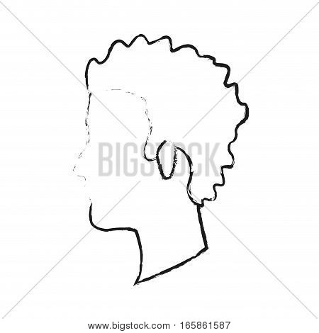 man face cartoon icon over white background. vector illustration