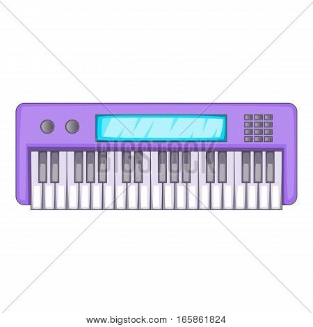 Synthesizer icon. Cartoon illustration of synthesizer vector icon for web design