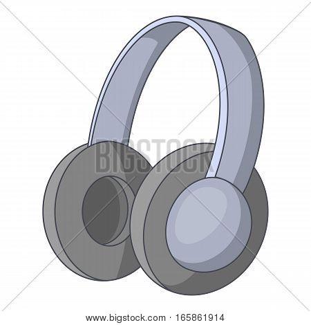 headphones icon. Cartoon illustration of headphones vector icon for web design
