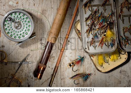 Salmon Fly Fishing Equipment