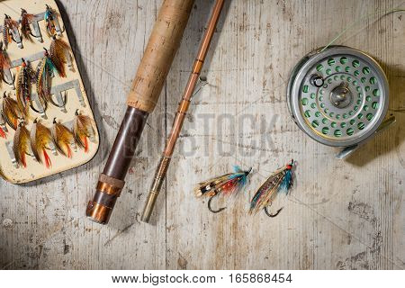 Salmon Fishing Flies