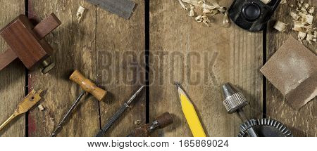 Carpentry Tools Selection Banner Image
