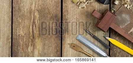 Carpentry Tools Banner Image