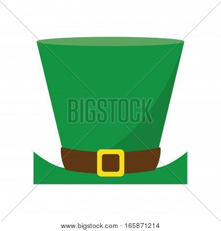 top hat saint patrick day symbol vector illustration eps 10