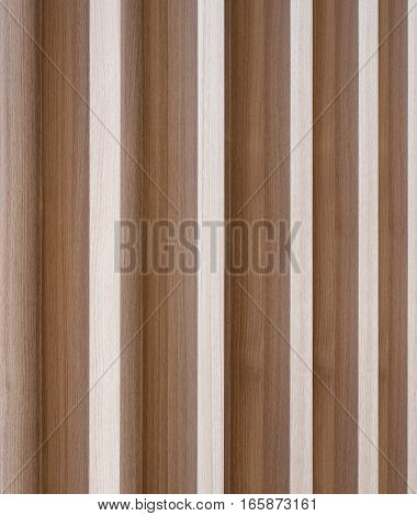 Brown wood striped pattern partition background wall