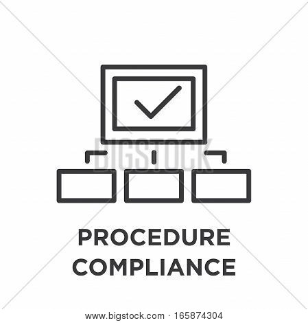 In Compliance Icon Set - Outline
