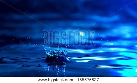 Water Wallpaper / Water is a transparent and nearly colorless chemical substance that is the main constituent of Earth's streams, lakes, and oceans