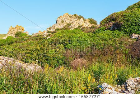 Karalar regional landscape park in the Crimea.