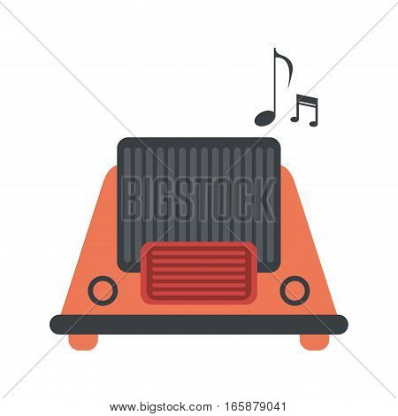 radio music communication device vector illustration eps 10