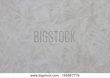 the abstract background of ice structure. Foto