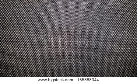 Black fabric texture and background. Abstract texture