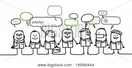 medical people & social network