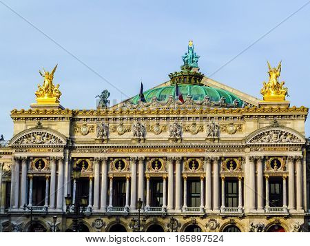 Hdr Paris Opera