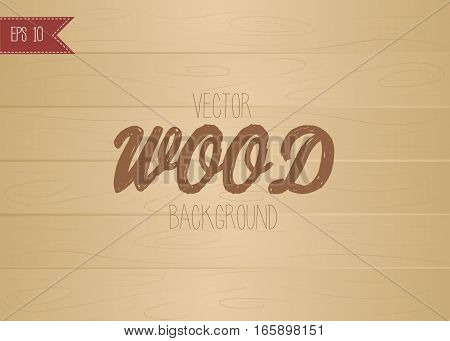 Vector illustration of wood background wood texture esp10