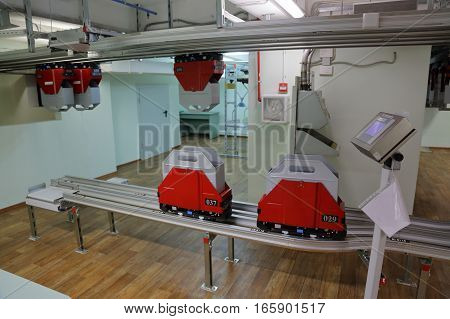 Monorail Transport System