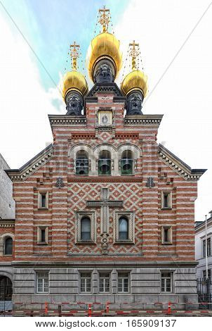 The Alexander Nevsky Church is the only Russian Orthodox church in Copenhagen.