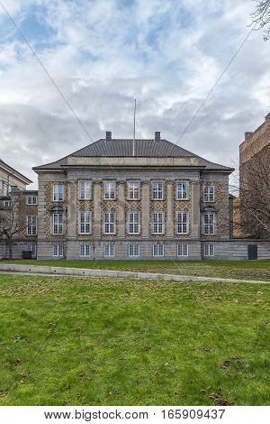 The Eastern High Court (Ostre Landsret) is one of Denmark's two High Courts along with the Vestre Landsret (Western High Court).