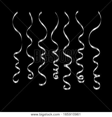 Ribbon Serpentine Isolated