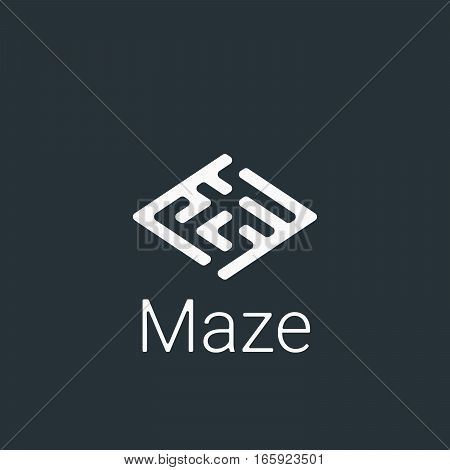 Modern Logo For Business. Vector Illustration Symbol