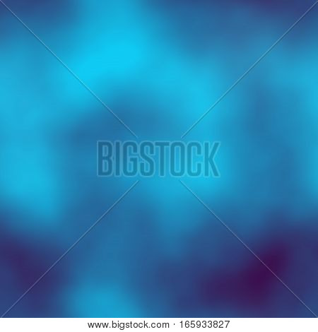 Bright blue mystery seamless magic background texture