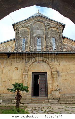 Old orthodox monastery Gelati near Kutaisi, Georgia