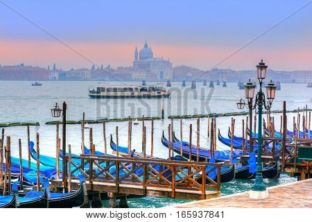 Beautiful traveling scene from Venice in summer season, Italy