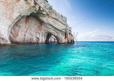 Blue Caves, Coastal Rocks Of Zakynthos
