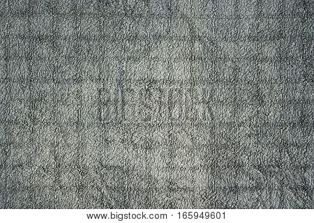 surface detail of grey towel texture ready for your design
