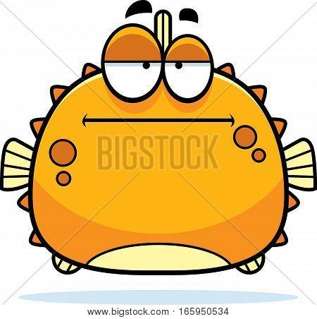 Bored Little Blowfish