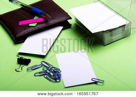 Stationery For Office: Clips, Binder Clip, Blanks, Wallet, Pen, Stickers