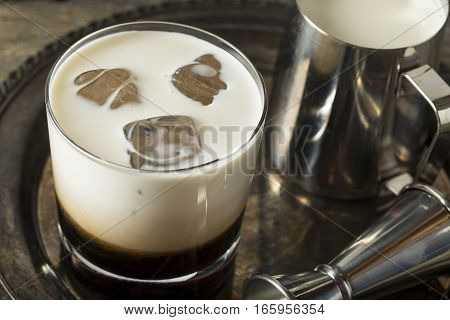 Homemade Coffee White Russian
