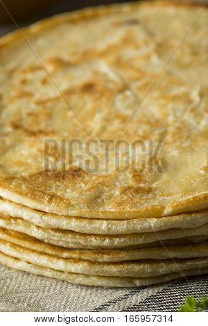 Homemade Flour Indian Paratha Bread