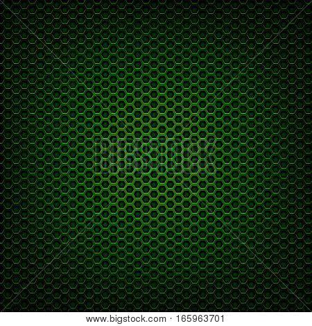 dark green metal mesh grill closeup detail
