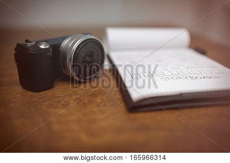 Storyboard And Camera