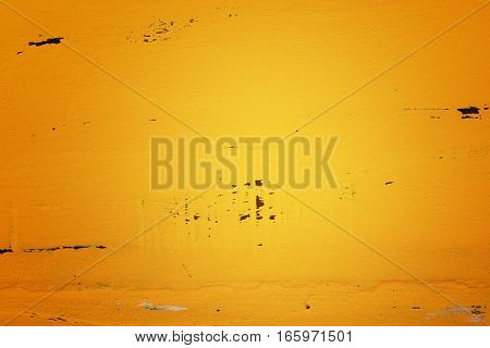 Yellow Rustic Wood Background, With Applied Dark Vignette Filters.