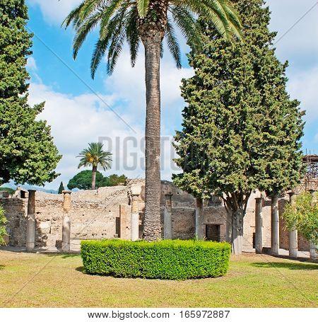The Garden Of Huse Of Faun