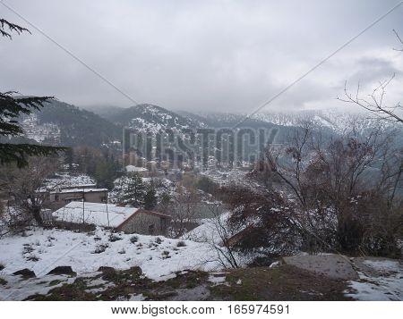 Cyprus Landscape In The Winter